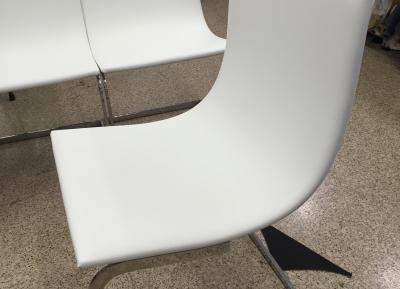 tapizado de silla, resultado final...